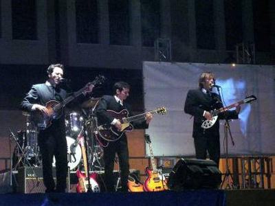The Mirrors coverband dei Beatles